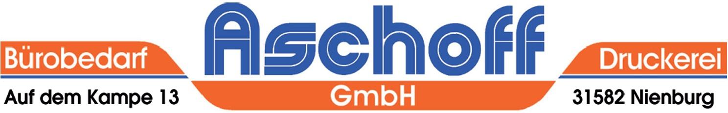 Aschoff GmbH Bürobedarf Druckerei Logo