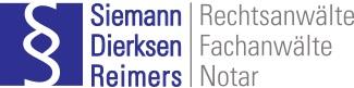 Kanzlei Siemann Werner Siemann, Birgit Dierksen, Max Reimers und Stefan Siemann Logo