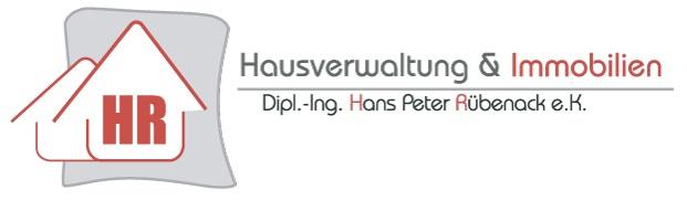 Dipl.-Ing. Hans-Peter Rübenack e.K. Hausverwaltung & Immobilien Logo